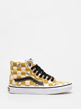 Pantofi Vans Sk8 Hi (big check/ylk)