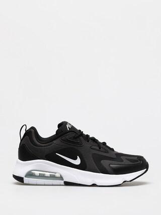 Nike Pantofi Air Max 200 (black/white off noir metallic silver)