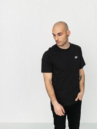 Nike Tricou Sportswear (black/white)