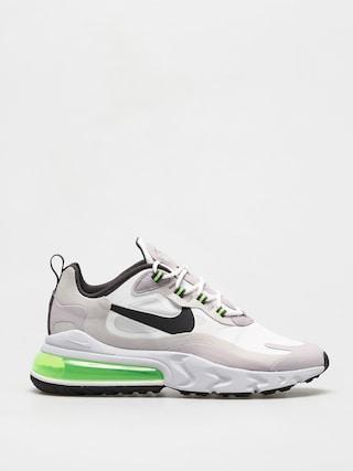 Nike Pantofi Air Max 270 React (summit white/electric green vast grey)