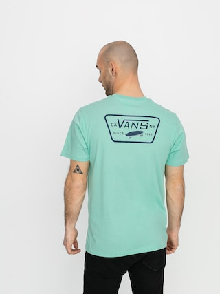 Tricou Vans Full Patch Back (dusty jade green/drs bls)