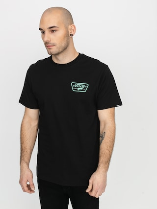 Tricou Vans Full Patch Back (black/dusty jade green)