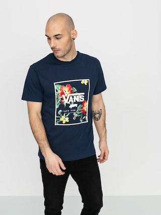 Tricou Vans Print Box (dress blues/trap floral)