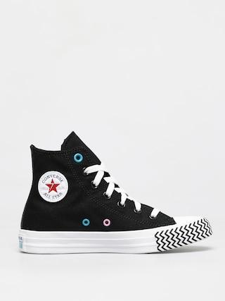 Teniu0219i Converse Chuck Taylor All Star Vltg Hi Wmn (black)