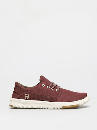 Etnies Pantofi Scout (burgundy/tan/gum)