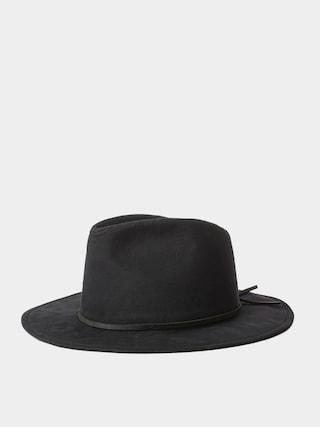 Brixton Pu0103lu0103rie Wesley Cotton Fedora (black)
