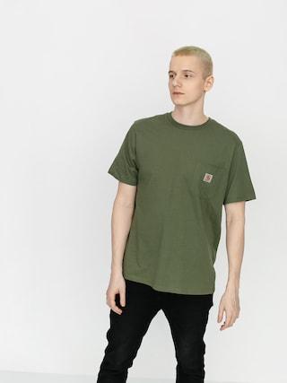 Tricou Carhartt WIP Pocket (dollar green)