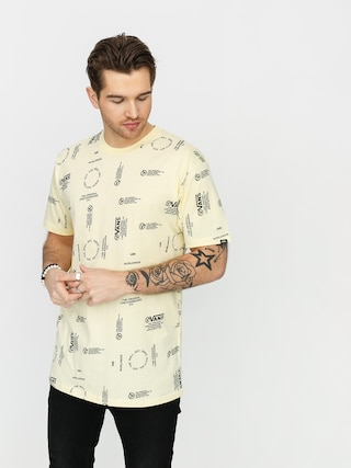 Tricou Vans Distortion Allover Print (double cream)