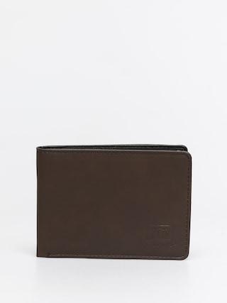 Quiksilver Portofel Slim Vintage IV (chocolate brown)