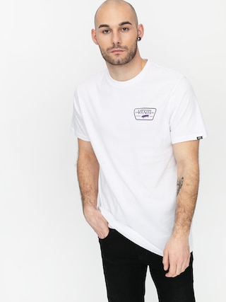 Vans Tricou Full Patch Back (white/heliotrope)