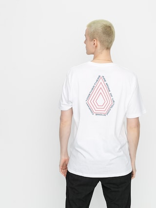 Volcom Tricou Radiation Bsc (white)
