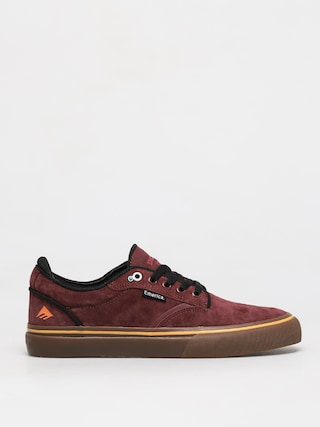 Emerica Pantofi Dickson (burgundy/gum)
