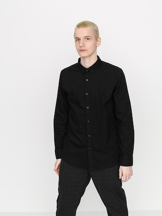 Volcom Cu0103mau0219u0103 Oxford Stretch LS (new black)