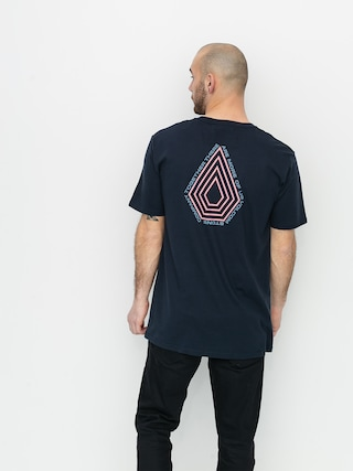 Volcom Tricou Radiation Bsc (navy)