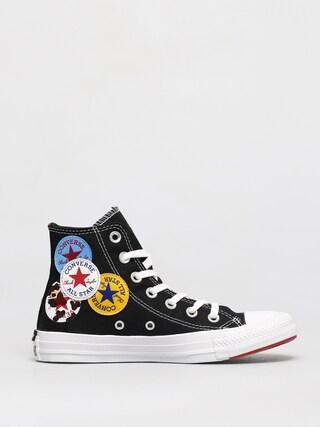 Converse Teniu0219i Chuck Taylor All Star Multi Logo Hi (black)