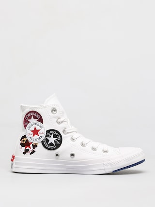 Converse Teniu0219i Chuck Taylor All Star Multi Logo Hi (optical white)