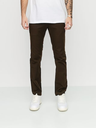 Volcom Pantaloni Frickin Modern Stret (dark chocolate)