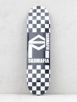 Placu0103 Sk8Mafia House Logo (checker black)