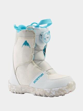 u00cencu0103lu021bu0103minte pentru snowboard Burton Grom Boa (white)
