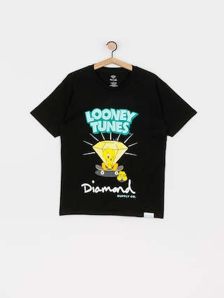 Tricou Diamond Supply Co. Tweety Skate (black)
