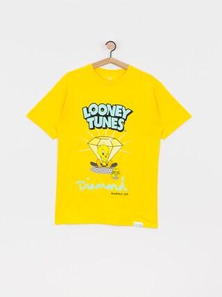 Tricou Diamond Supply Co. Tweety Skate (yellow)