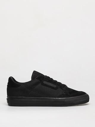 adidas Originals Pantofi Continental Vulc (cblack/cblack/ftwwht)