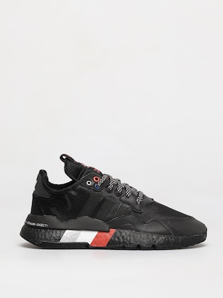 adidas Originals Pantofi Nite Jogger (cblack/cblack/silvmt)