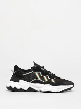 adidas Originals Pantofi Ozweego (core black/solar green/onix)