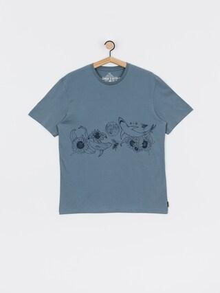 Volcom Tricou Pangea Seed Fa (stormy blue)