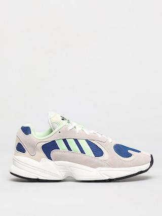 Pantofi adidas Originals Yung 1 (ftwr white/glow green/collegiate royal)