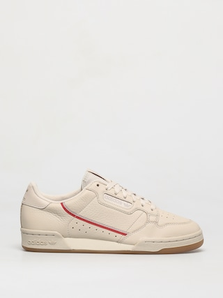 adidas Originals Pantofi Continental 80 (cbrown/scarle/ecrtin)