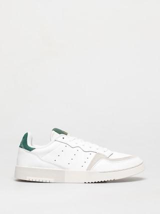 adidas Originals Pantofi Supercourt (white/white/collegiate green)
