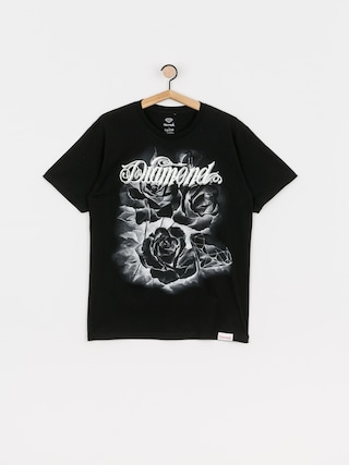 Diamond Supply Co. Tricou Giant Script Blossom (black)