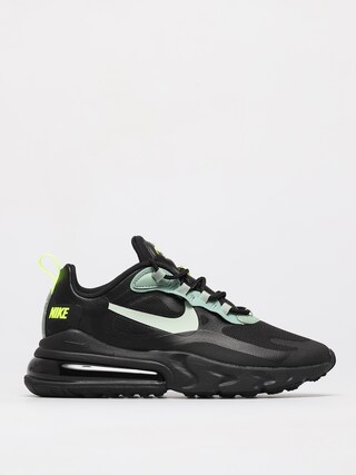Nike Pantofi Air Max 270 React (black/pistachio frost silver pine volt)