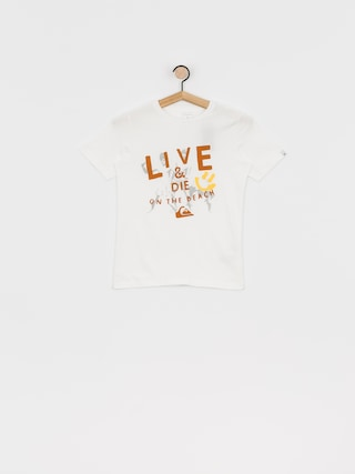 Quiksilver Tricou Illusions Of Order (white)