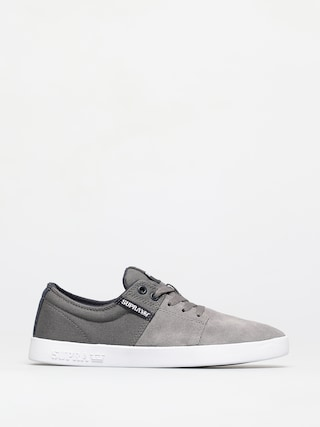 Supra Pantofi Stacks II (grey/navy white)