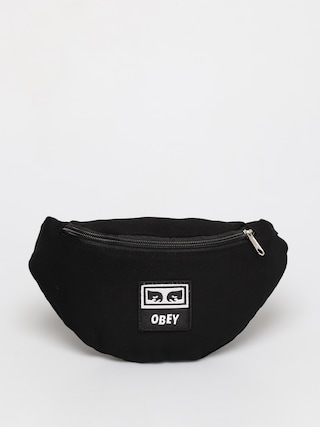 OBEY Borsetu0103 de bru00e2u Wasted Hip Bag (black twill)