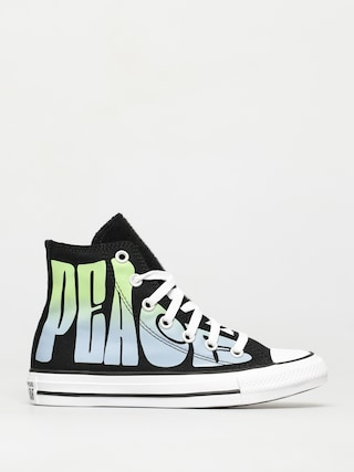 Converse Teniu0219i Chuck Taylor All Star Hi (black/lemongrass/white)