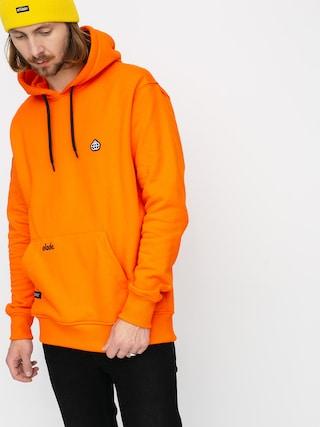 Elade Hanorac cu glugu0103 Icon Mini Logo HD (orange tiger)