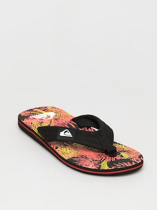 Quiksilver Papuci de plaju0103 Molokai Layback (black/red/yellow)