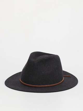 Brixton Pu0103lu0103rie Wesley Fedora (heather/black)