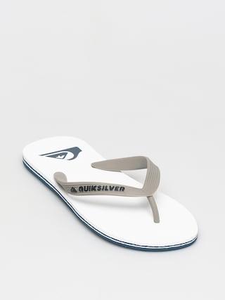 Quiksilver Papuci de plaju0103 Molokai (grey/grey/white)