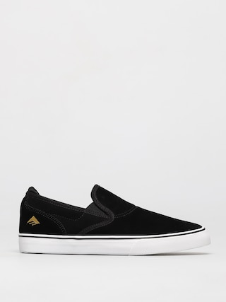 Emerica Pantofi Wino G6 Slip On Youth (black/white/gold)