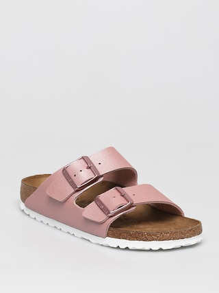 Birkenstock Sandale Klapki Arizona Wmn (icy metallic old rose)