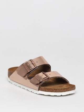 Birkenstock Sandale Klapki Arizona Wmn (metallic copper)