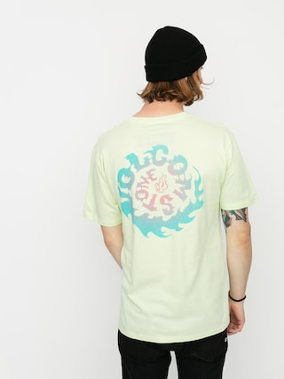 Volcom Tricou Throttle Bsc (key lime)