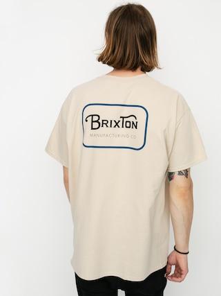 Brixton Tricou Grade Stnd (vanilla/blue)