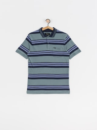 Brixton Tricou polo Hilt (twilight blue/washed navy)
