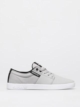Supra Pantofi Stacks II (lt grey tuf white)