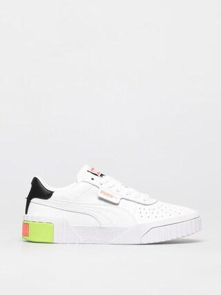 Puma Pantofi Cali Wmn (white/ngry peach)